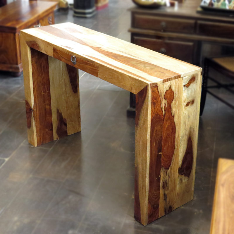 Как сделать консоль столик своими руками 120